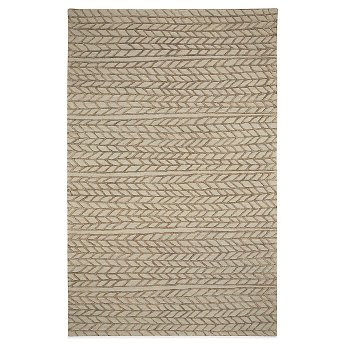 Alternate image 1 for Capel Rugs Genevieve Gorder Ancient Arrow  8-Foot x 10-Foot Area  Rug in Beige