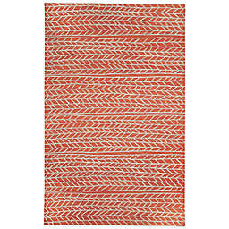 Capel Rugs Genevieve Gorder Ancient Arrow 9-Foot x 12-Foot Area Rug in Red