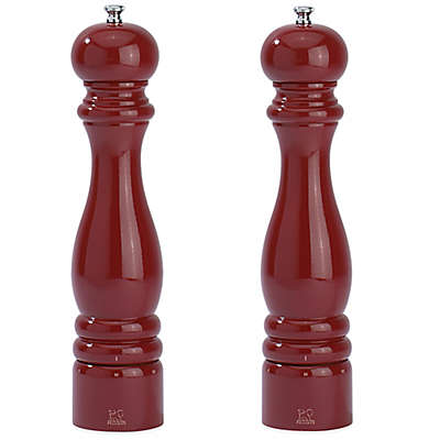 Peugeot Paris u'Select 12-Inch Salt and Pepper Mills in Lacquer Red