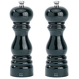 Peugeot™ Paris 7-Inch Salt and Pepper Mill Collection in Glossy Black