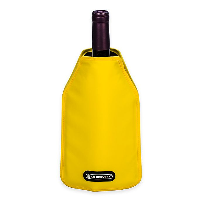 Alternate image 1 for Le Creuset® Wine Cooler Sleeve in Yellow