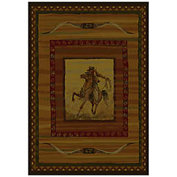 United Weavers Rawhide Lodge 7-Foot 10-Inch x 10-Foot 6-Inch Area Rug