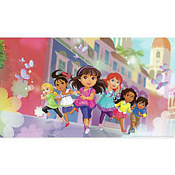 York Wallcoverings Dora and Friends XL Chair Rail Prepasted Mural