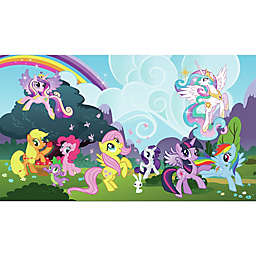 York Wallcoverings My Little Pony Ponyville Chair Rail Prepasted Mural