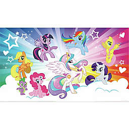 York Wallcoverings My Little Pony Cloud XL Chair Rail Prepasted Mural