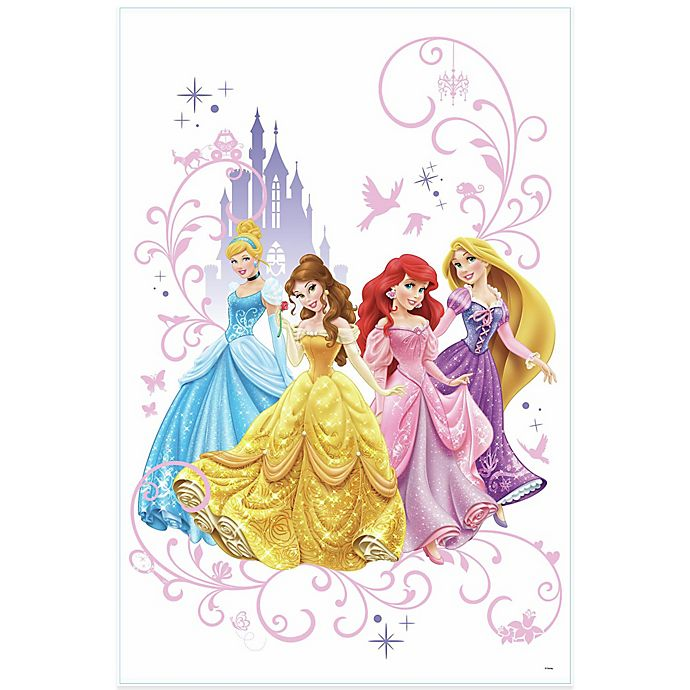 Alternate image 1 for Disney® Princess Peel and Stick Giant Wall Decals