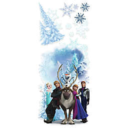 Disney® Frozen Character Winter Burst Peel and Stick Giant Wall Decals