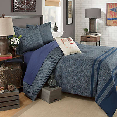 Brooklyn Flat Indira Comforter Set in Blue