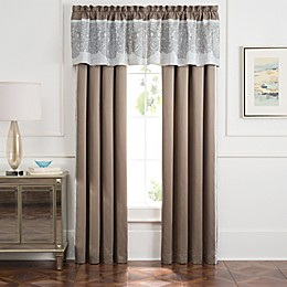 Torino Window Curtain Panel and Valance