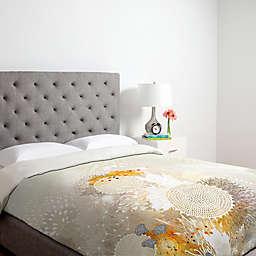 Deny Designs Iveta Abolina White Velvet Duvet Cover