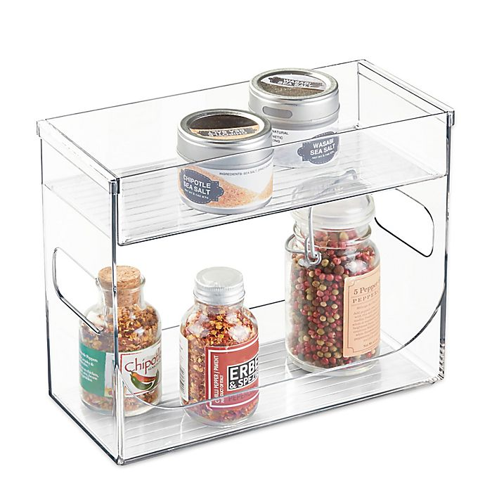Alternate image 1 for iDesign® Cabinet Binz™ Spice Rack