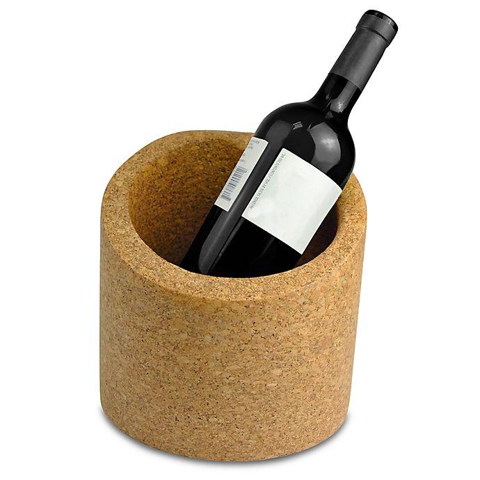 Alternate image 1 for Large Slanted Cork Ice Bucket