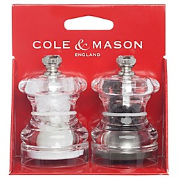 Cole & Mason Button Salt and Pepper Mill Set