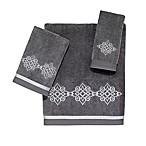 Avanti Riverview Hand Towel in Nickel/Silver