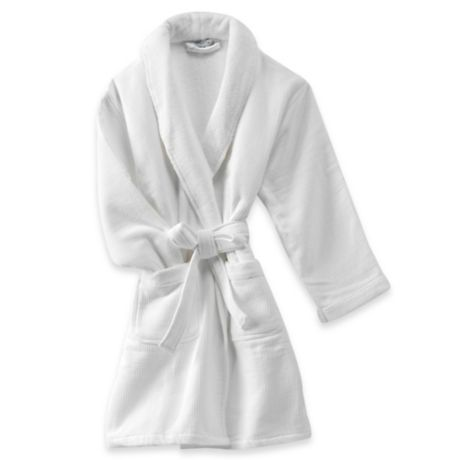 Haven Spa Waffle Robe in White  5ba47f2c6