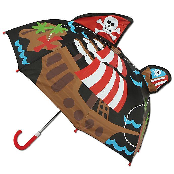 Alternate image 1 for Stephen Joseph® Pop Up 3-D Pirate Umbrella