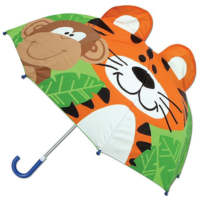 Alternate image 1 for Stephen Joseph® Pop Up 3-D Zoo Umbrella