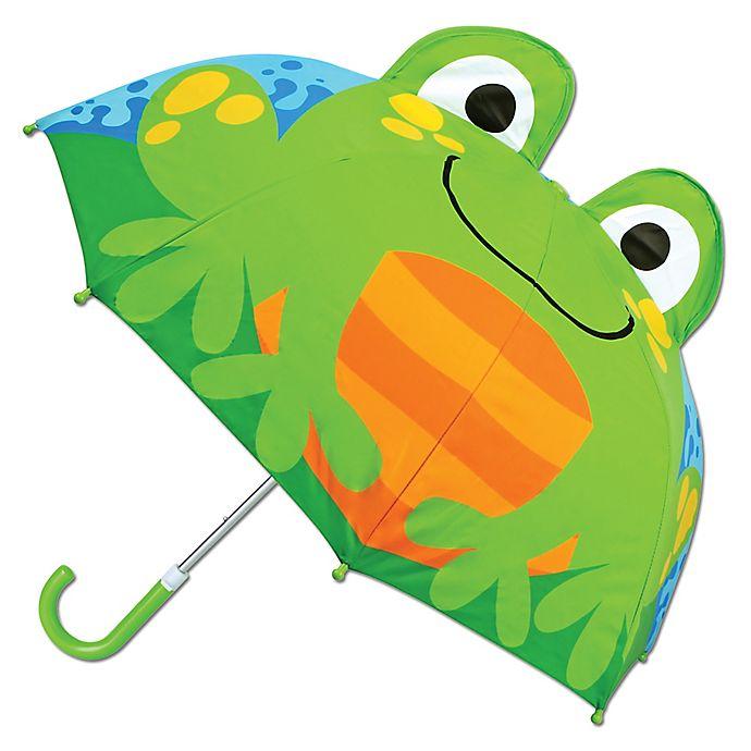 Alternate image 1 for Stephen Joseph® Pop Up 3-D Frog Umbrella
