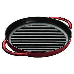 Staub 10-Inch Cast Iron Pure Grill in Grenadine