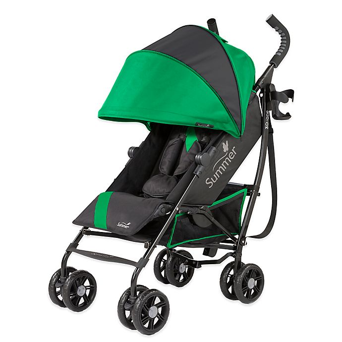 Alternate image 1 for Summer Infant® 3D-one™ Convenience Stroller in Brilliant Green