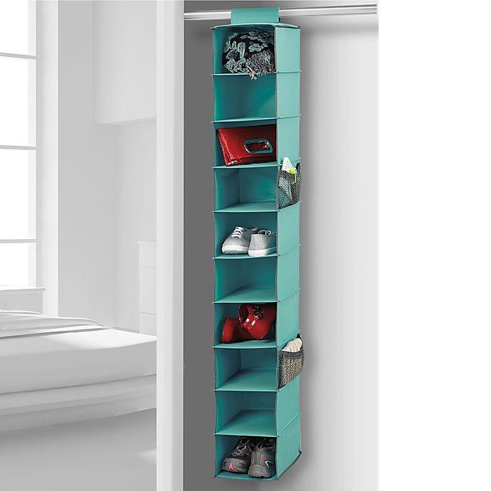 Alternate image 1 for Studio 3B™ 10-Shelf Hanging Shoe Organizer