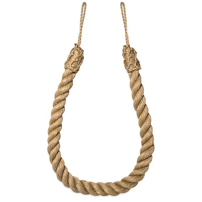 Alternate image 1 for Jute Rope Tie Back
