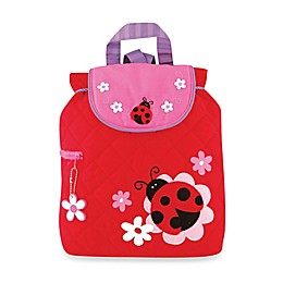 Stephen Joseph® Ladybug Quilted Backpack in Red