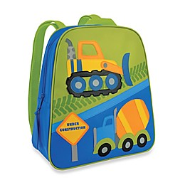 Stephen Joseph® Construction Go Go Backpack in Blue/Green