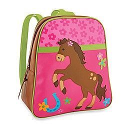 Stephen Joseph® Horse Go Go Backpack in Pink/Brown