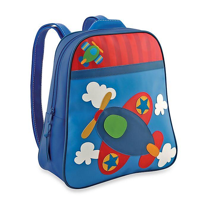 Alternate image 1 for Stephen Joseph® Airplane Go Go Backpack in Blue