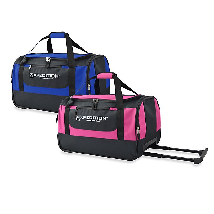 cad96d006a7c Travelers Club® 20-Inch Carry-On Rolling Duffel