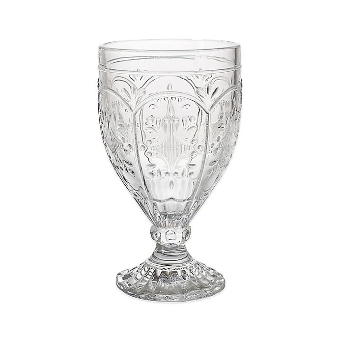 Alternate image 1 for Fitz and Floyd® Trestle Goblets in Clear (Set of 4)