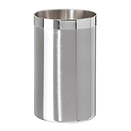 Two-Tone Satin Stainless Steel Wine Cooler
