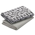 Graco® Pack 'n Play® 2-Pack Waterproof Playard Sheet in Sutton/Grey