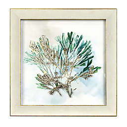 Prinz Kelp 12-Inch x 12-Inch Framed Wall Art in Blue