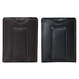 Dopp Leather Regatta Front Pocket Magnetic Money Clip