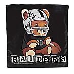 NFL Oakland Raiders Littlest Fan Burp Cloth