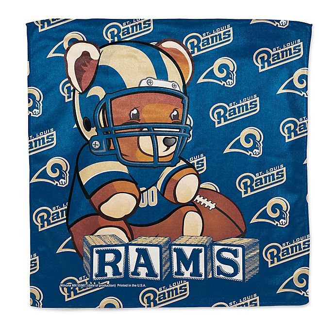 bb6f7a462f1 NFL St. Louis Rams Littlest Fan Burp Cloth