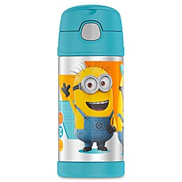 Thermos® Funtainer™ 12 oz. Minions Beverage Bottle in Blue/Yellow