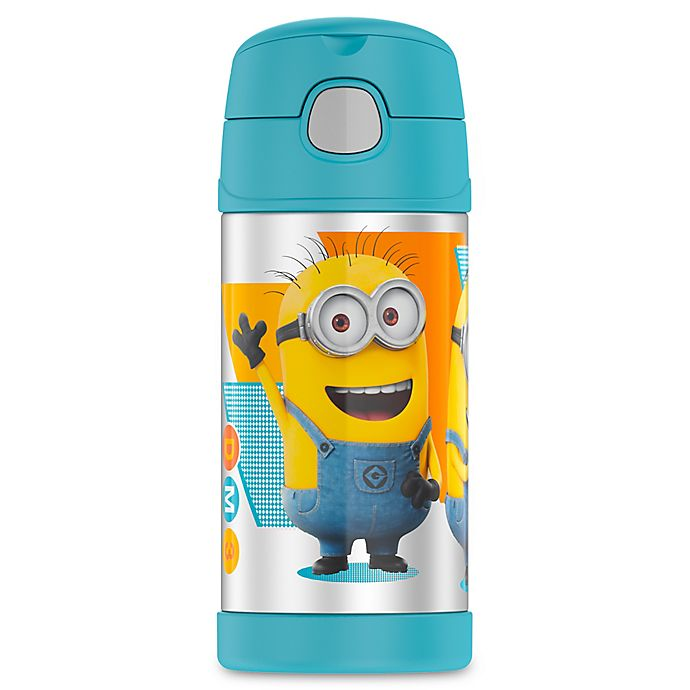 b2c59a6bdb Thermos® Funtainer™ 12 oz. Minions Beverage Bottle in Blue/Yellow ...