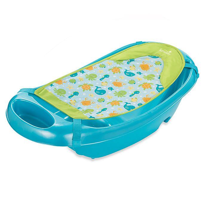Alternate image 1 for Summer Infant® Splish 'n Splash Newborn to Toddler Bath Tub in Blue