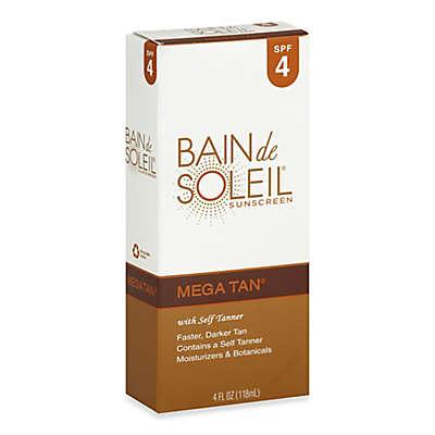 Bain de Soleil® Mega Tan® 4 oz. Sunscreen With Self Tanner SPF 4
