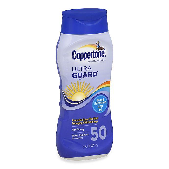 Alternate image 1 for Coppertone® Ultra Guard® Broad Spectrum Lotion SPF 50