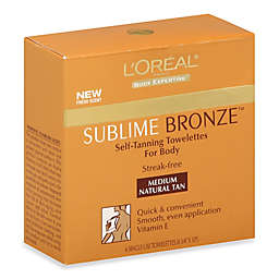 L'Oréal® Paris 6-Count Sublime Self-Tanning Towelettes in Medium