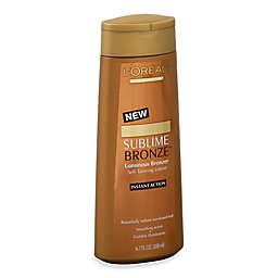 L'Oréal® Paris Sublime Bronze™ Luminous Bronzer Self-Tanning Lotion