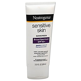 Neutrogena® 3 oz.Sensitive Skin Broad Spectrum Sunscreen SPF 60+
