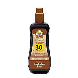 Australian Gold® 8 oz. Spray Gel Sunscreen with Instant Bronzer SPF 30