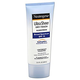 Neutrogena® Ultra Sheer® 3 oz. Dry-Touch Sunscreen Broad Spectrum SPF 70