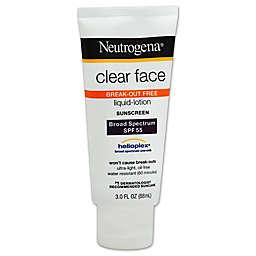 Neutrogena® 3 fl.oz. Clear Face Liquid Lotion Sunscreen SPF 55