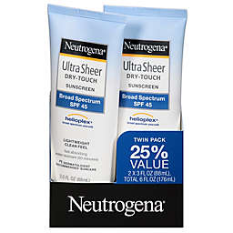 Ultra Sheer® Dry-Touch 2-Pack 3 fl. oz. Sunscreen Broad Spectrum SPF 45